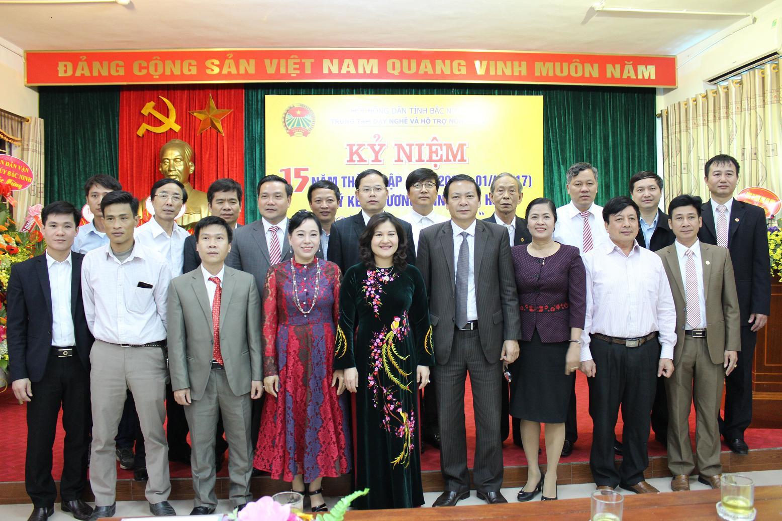 Kỷ niệm 15 năm thành lập TT DN& HTND tỉnh BN