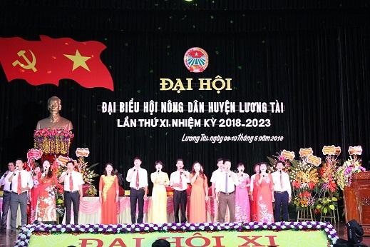 Đại hội đại biểu HND huyện Lương Tài khóa XI