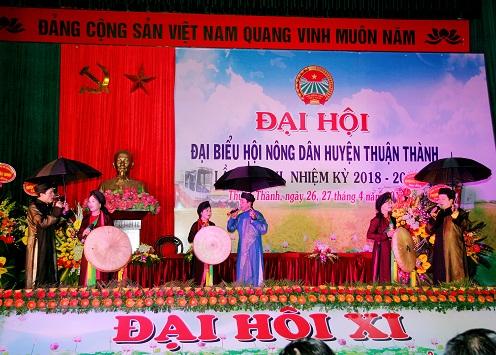 Đại hội đại biểu HND huyện Thuận Thành khóa XI