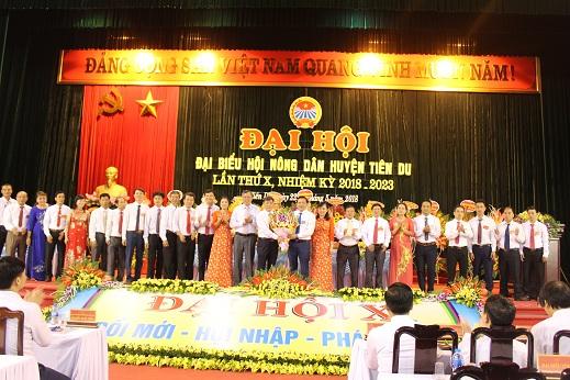 Đại hội đại biểu Hội Nông dân huyện Tiên Du lần thứ X