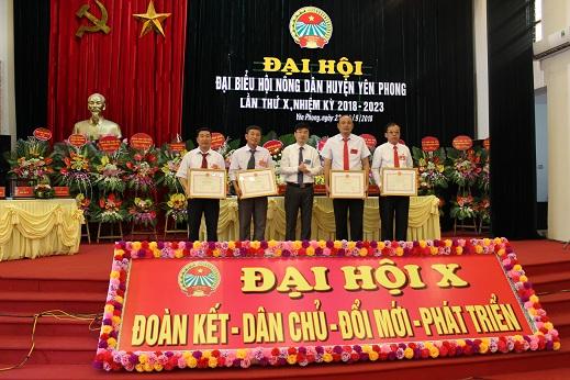 Đại hội đại biểu Hội Nông dân huyện Yên Phong lần thứ X
