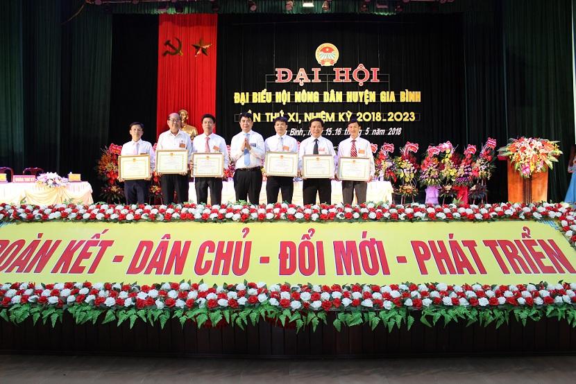 Đại hội đại biểu Hội Nông dân huyện Gia Bình lần thứ XI