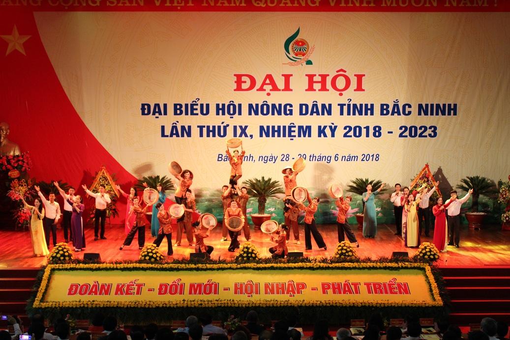 Đại hội đại biểu Hội Nông dân tỉnh Bắc Ninh lần thứ IX, nhiệm kỳ 2018-2023