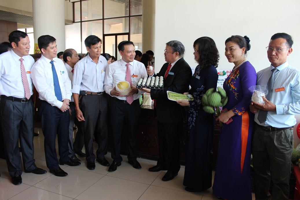 Triển lãm nông nghiệp tại Đại hội đại biểu HND tỉnh Bắc Ninh lần thứ IX