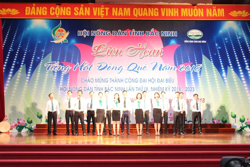 Liên hoan Tiếng hát đồng quê tỉnh Bắc Ninh năm 2018